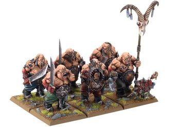 Ogros Toro Reinos Ogros 6ª Edición miniaturas