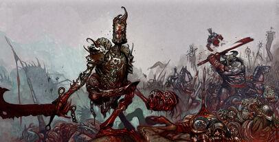 Tiernen Trevallion illus15 Caos Guerreros mutantes Bestias.jpg