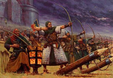 Arqueros Campesinos por Karl Kopinski.jpg