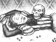 Victima craneo de la muerte por Martin McKenna
