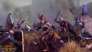 Elfa bruja altos elfos warhammer total war