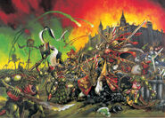 5º Edición, Hombres Largarto contra Bretonia - Mark Gibbons, 1996