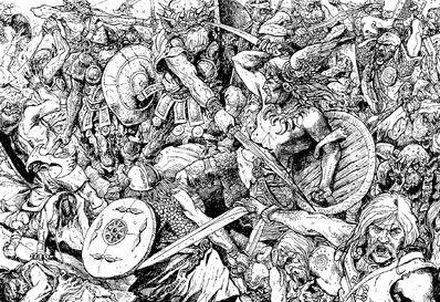 Norses contra Orcos por Russ Nicholson.jpg