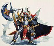 Guerrero del Caos de Warhammer Quest por Dave Gallagher