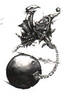 Fanático Goblin por Mark Gibbons