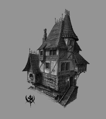 Warhammer Online Concept Art Edificio Imperio (3).jpg