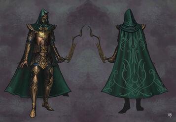 Warhammer age of reckoning Imagen Guerrero Sombrio Altos Elfos 03