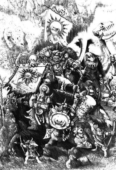 Gorfang Rotgut por John Blanche Orcos y Goblins.jpg