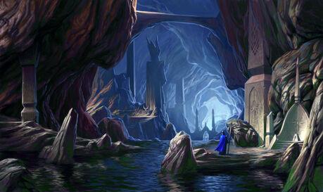 Cuevas Ciudad Subterranea Altos Elfos Chris Dien.jpg