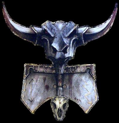 Toro de Hashut Estandarte Enanos del Caos.png