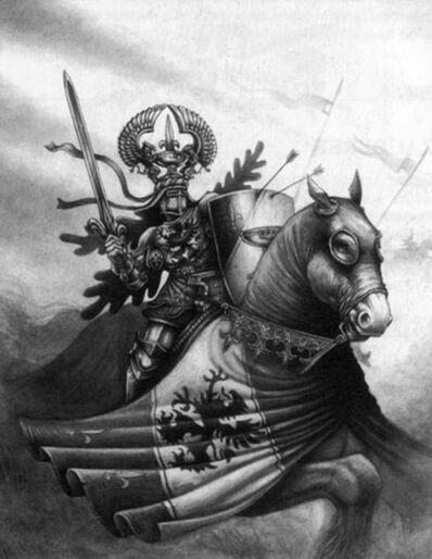 Caballero del Grial por Des Hanley.jpg