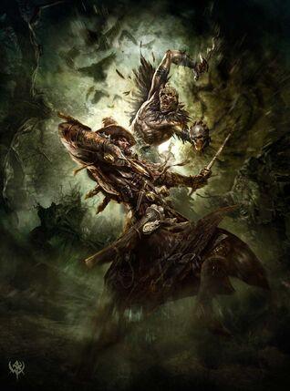 Cazador de Brujas contra Fanático del Caos.jpg