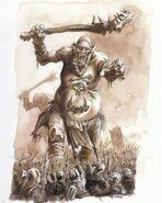 Gigante por Dave Gallagher