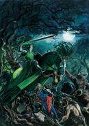 El Caballero Verde por Dave Gallagher