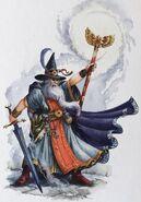 Hechicero de Warhammer Quest por Dave Gallagher
