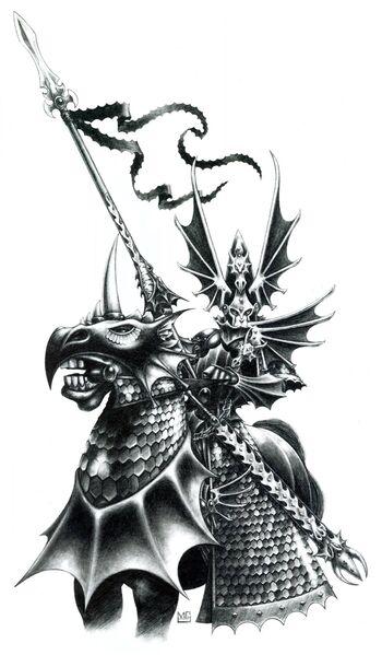 Príncipe Dragón de Mark Gibbons Altos Elfos.jpg