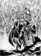 Hechicero Elfo Silvano por Mark Gibbons Cantor de Árboles