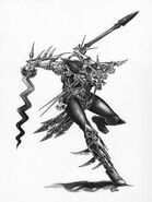Asesino Elfo Oscuro por Mark Gibbons