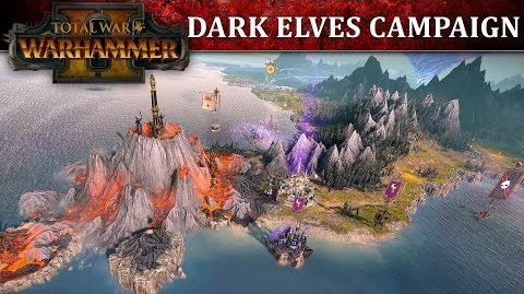 Total War WARHAMMER 2 - Dark Elves Campaign Let's Play