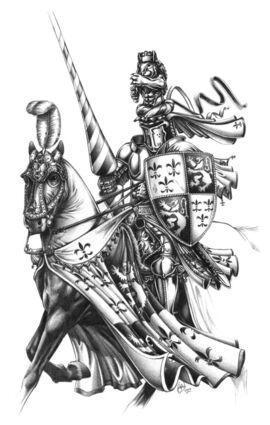 Caballero del Reino por Des Hanley.jpg
