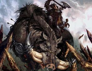 Jabalí de Guerra de Hugh Jamieson Kaudillo Orco.jpg