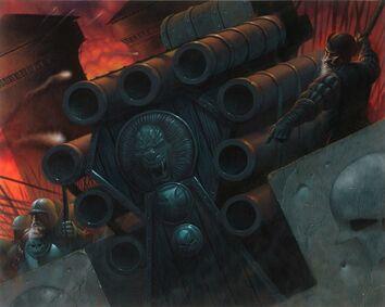 Cañón de Salvas Sabertooth Games GW Trading card - Hellblaster Wayne England.jpg
