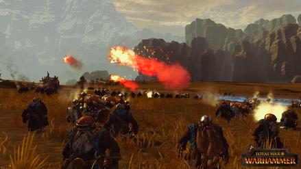 Cañon lanzallamas Warhammer Total War
