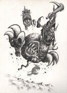 Garrapatos Saltarines por Mark Gibbons