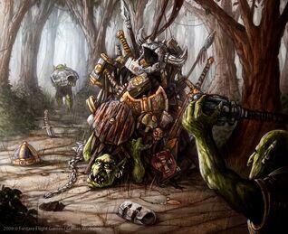 Gobbos saqueando de Mark Molnar Goblins.jpg