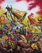 Portada Libro de Ejército 4ª edición por Dave Gallagher