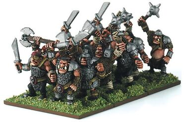 Ogros Warmaster Miniaturas