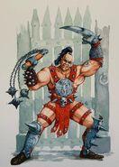 Luchador de Pozo de Warhammer Quest por Dave Gallagher