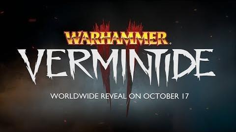 Warhammer Vermintide 2 Teaser Trailer