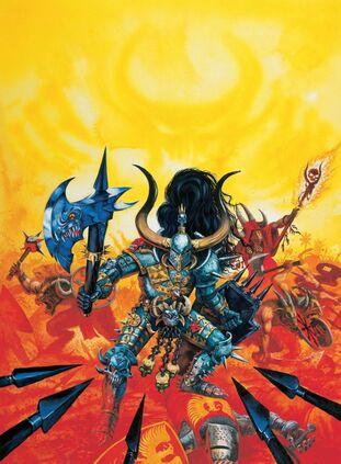 Paladín y hombres Bestia por Dave Gallagher.jpg