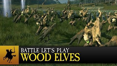 Total War WARHAMMER - Realm of the Wood Elves - Battle Let's Play (COMBI)-0