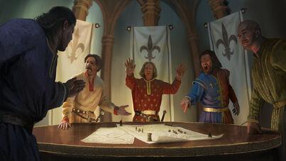 Política Bretonia por Milek Jakubiec Warhammer Total War.jpg