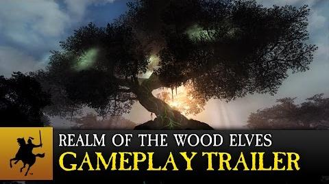 Total War WARHAMMER - Realm of The Wood Elves Gameplay Trailer (COMBI)