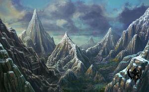 Montañas Espinazo de Dragón Warhammer Online.jpg