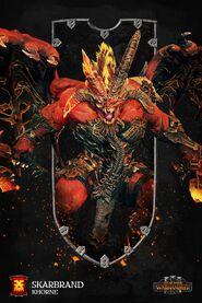 Skarbrand Arte Warhammer Total War 3