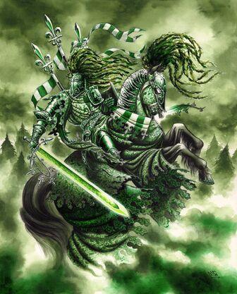 El Caballero Verde por Mark Gibbons.jpg