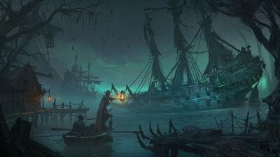 Costa del Vampiro Warhammer Total War II por Lucas Staniec.jpg