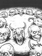 Craneos de la muerte inactivos por Martin Mckenna