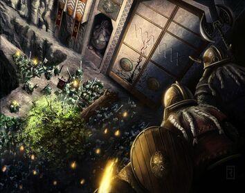 Fortaleza Asediada de Reid Southern Rahll Orcos Enanos.jpg