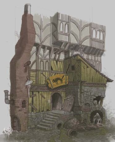 Warhammer age of reckoning conceptart RRNqC Edificio Imperio.jpg