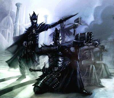 Ballesteros Elfos Oscuros por John Gravato.jpg