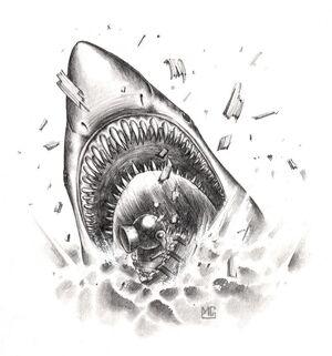 Megalodón por Mark Gibbons Man O' War.jpg