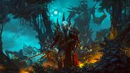 Luthor Harkon y piratas Zombi Warhammer Total War II por Bayard Wu