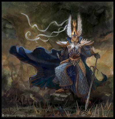 Warhammer Armadura de dragón de Aenarion por Andrew Johanson.jpg