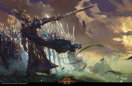 Altos Elfos por Bayard Wu Warhammer Total War II.jpg