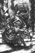 Lanzallamas de Disformidad por Mark Gibons Skavens